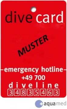 Aquamed Diver Versicherung