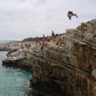 Klippenspringen - Schwimmen Tauchen Tirol