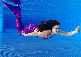 Mermaid Claudia - Meerjungfrau - Schwimmen Tauchen Tirol